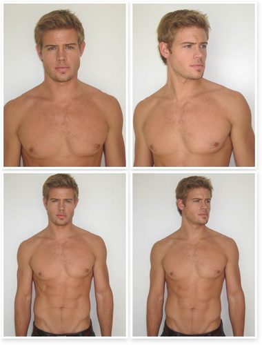 Trevor Donovan 壁纸 probably with a six pack, a hunk, and skin titled Polaroids