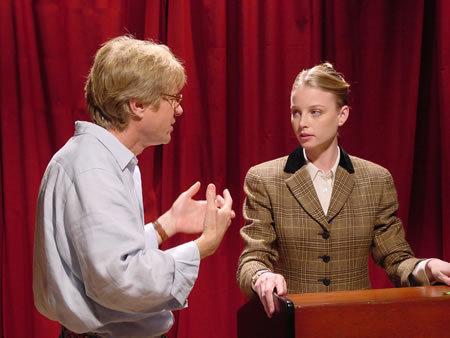Rachel in Debating Robert Lee