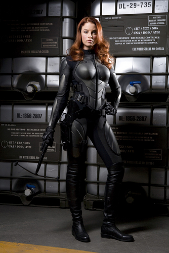 Rachel in GI Joe