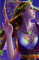 Rainbow Lady - mystical-women photo