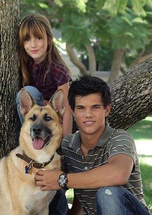 Renesmee, Jacob & EJ(TheDog)