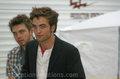 Rob On Set - twilight-series photo