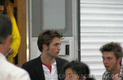 Rob On Set