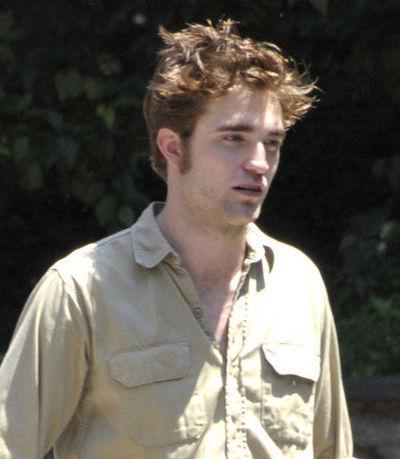 Robert Pattinson on Remember set