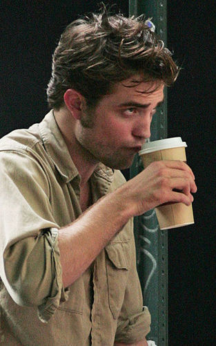 Robert Pattinson on Remember set