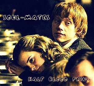 Romione wallpaper probably with a portrait titled Ron & Hermione
