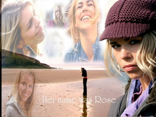 Rose Tyler wallpaper possibly containing a sign and a portrait titled Rose Tyler