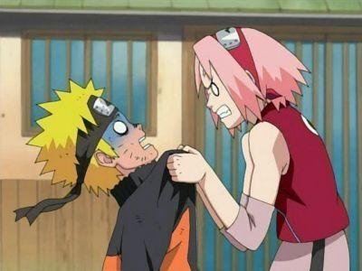 Sakura still angry at Naruto