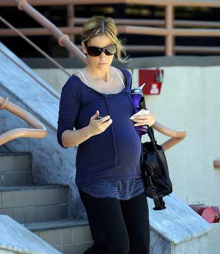 Sarah pregnant
