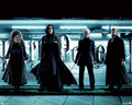 Snape &amp; Death Eaters - severus-snape wallpaper
