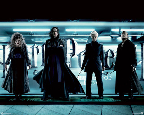 Snape & Death Eaters - severus-snape Wallpaper