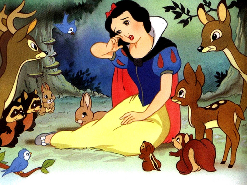 Snow White wallpaper with anime entitled Snow White