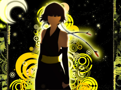 animê bleach wallpaper possibly with animê titled Soi Fon