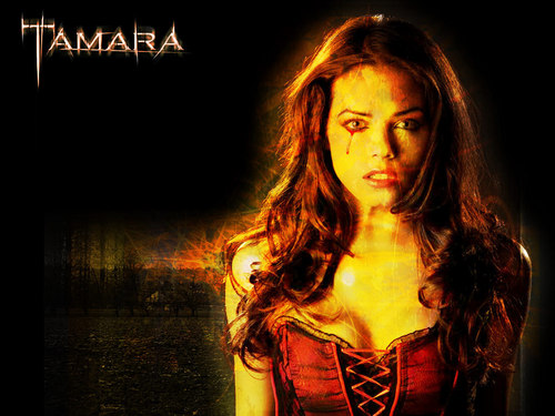 Horror Movies wallpaper probably containing a cocktail dress and a portrait called Tamara