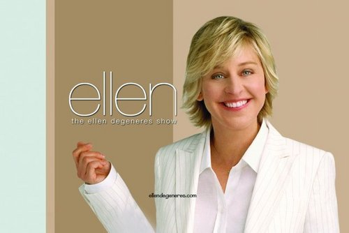 The Ellen Degeneres Show wallpaper probably with a bathrobe and a portrait called The Ellen Degeneres Show