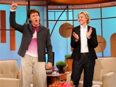 The Ellen Degeneres tampil