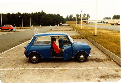 The Old Mini :)