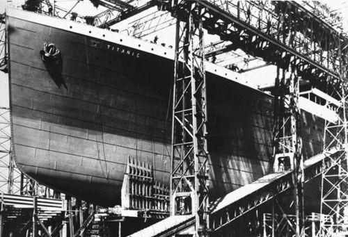 Titanic bow