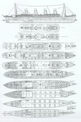 Titanic plans - rms-titanic Photo