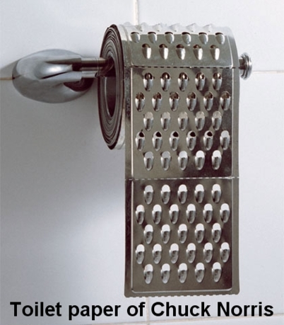 chuck norris toilet paper