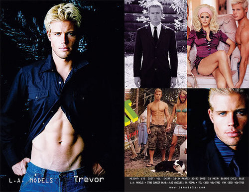Trevor Donovan wallpaper called Trevor Neubauer model cards