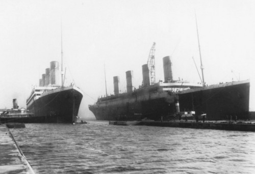 Two Masters of the Sea - rms-titanic Photo