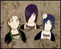 Yahiko,Nagato and Konan