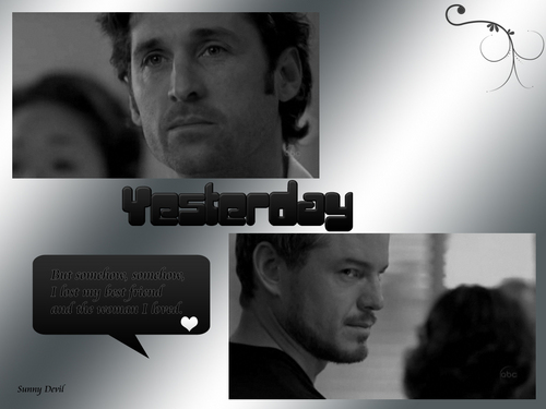 Grey's Anatomy wallpaper titled Yesterday - 2x18
