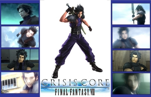 Final Fantasy VII achtergrond containing anime entitled ZACK FAIR