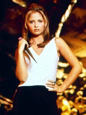 Buffy The Vampire Slayer kertas dinding titled buffy
