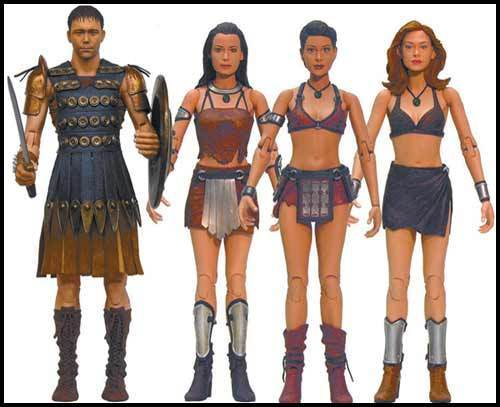charmed valkarie action figures