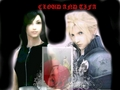 cloud and tifa - cloud-strife photo