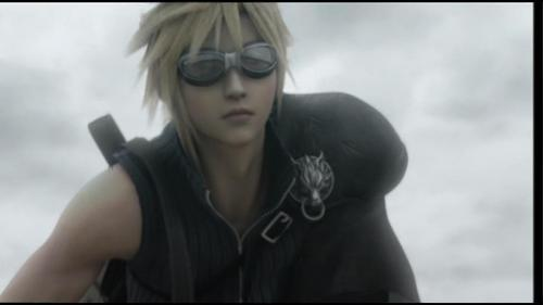 Final Fantasy VII پیپر وال with sunglasses titled بادل strife screencaps