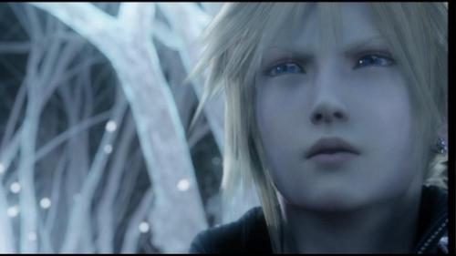 Final Fantasy VII پیپر وال containing a portrait titled بادل strife screencaps