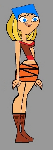courtney as lindsay  - total-drama-islands-courtney Fan Art