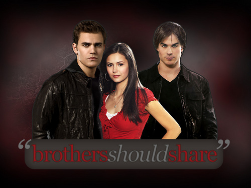 elena, stefan, and damon