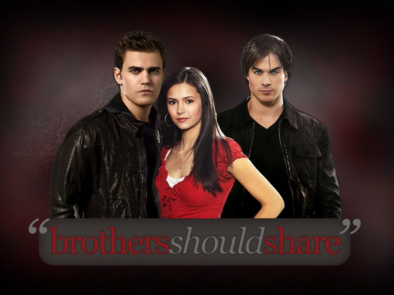 elena, stefan, and damon - The Vampire Diaries Wallpaper (6965522) - Fanpop