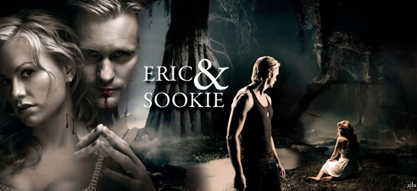 Real Blood Love Wallpaper : eric sookie banner - Sookie and Eric Fan Art (6975093) - Fanpop