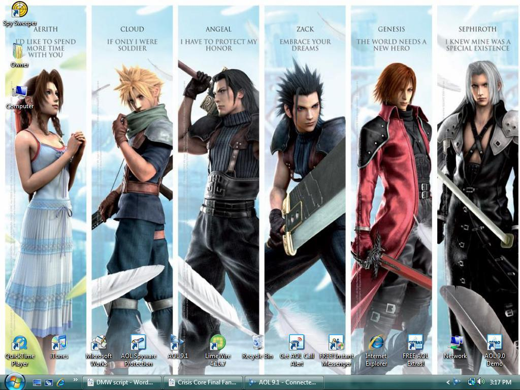 Final Fantasy VII Images 7 Crisis Core HD Wallpaper And Background Photos