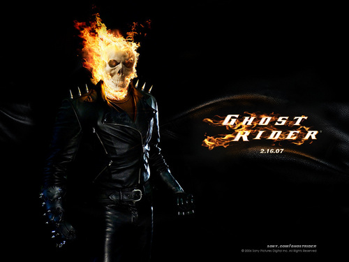 Ghost Rider wallpaper with a concert entitled ghost (akartsky)