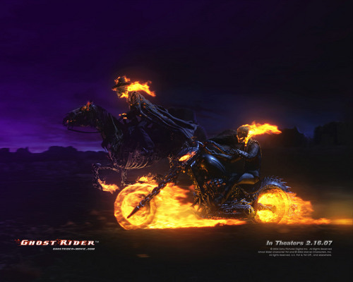 Ghost Rider wallpaper containing a fire and a fire called ghost (akartsky)