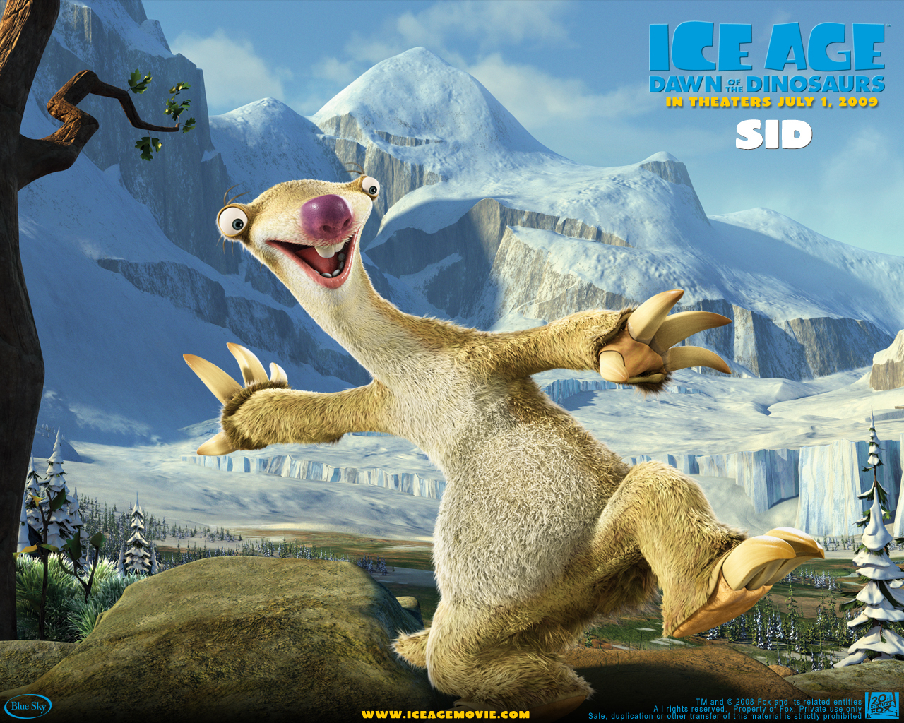 Ice age 3 dawn of the dinosaurs ice age down of the dinosaurs
