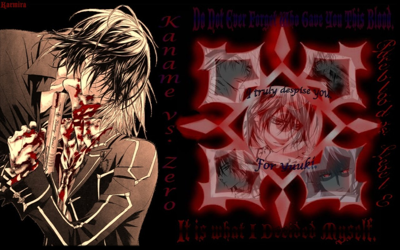 kaname and zero wallpaper wwwpixsharkcom images
