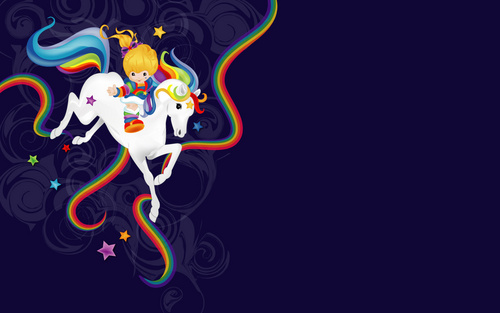 rainbow brite - rainbow-brite Wallpaper