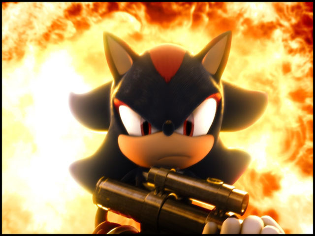 Shadow Hedgehog Gun images