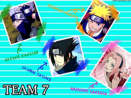 team 7 - naruto Photo