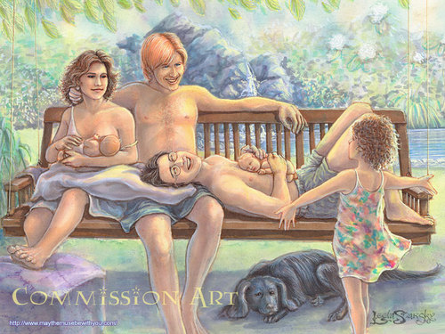 Harry Potter achtergrond probably with a park bench and skin entitled the Trio fan art