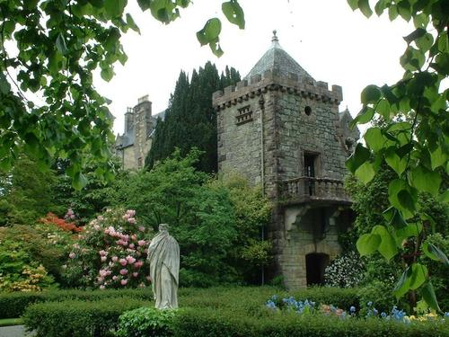 torosay castle gardens, mull - scotland Photo
