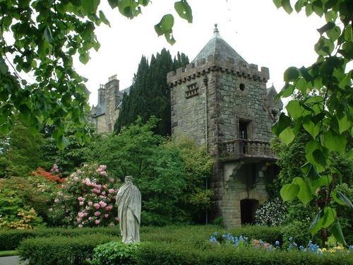 torosay kastil, castle gardens, mull
