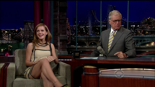 """Late mostrar with David Letterman"""